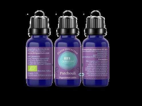 Óleo essencial de Patchouli (Pogostemon cablin)
