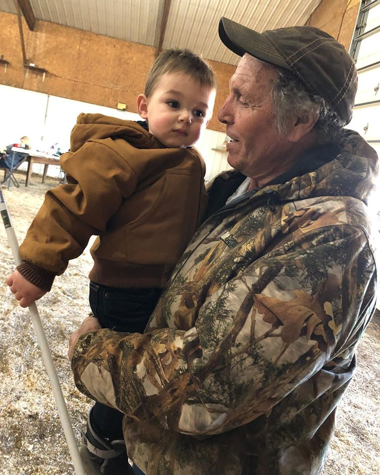 Grandpa and Gage