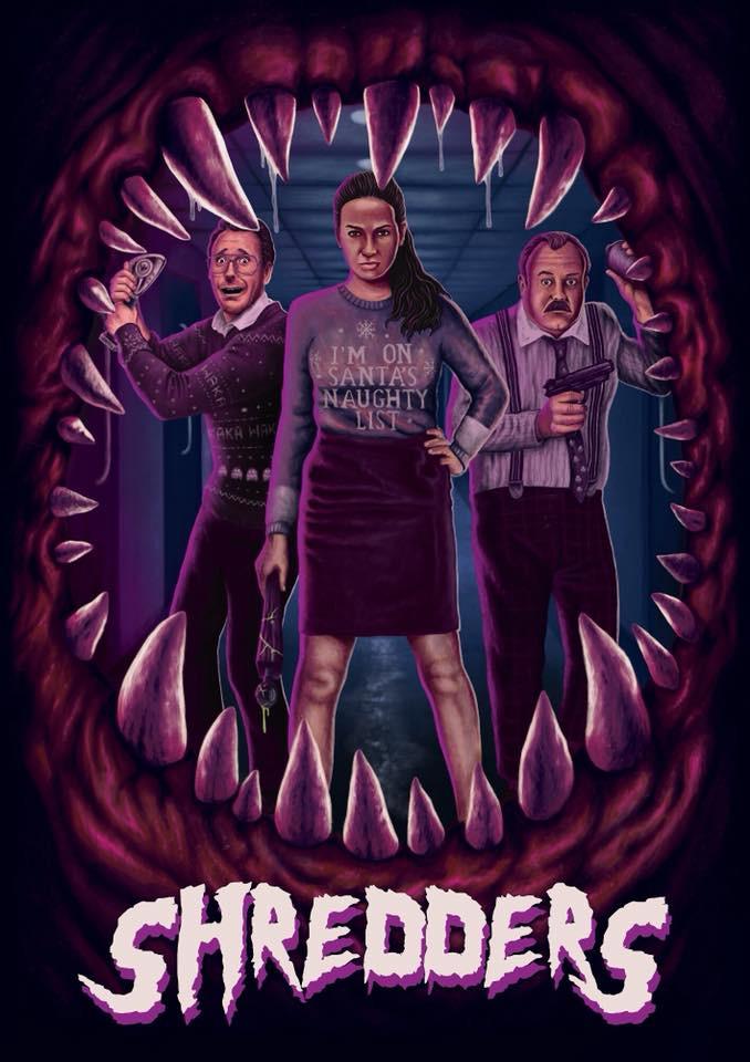 Shredders short movie poster