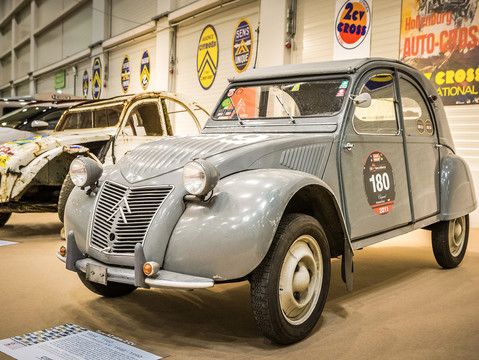 1955   Type AZ série 2 CV