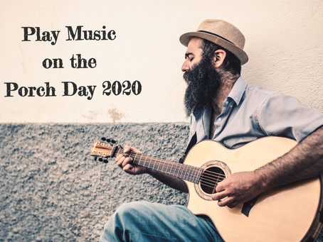 """Play Music On The Porch Day"" will be Rockin' a Neighborhood Near You"
