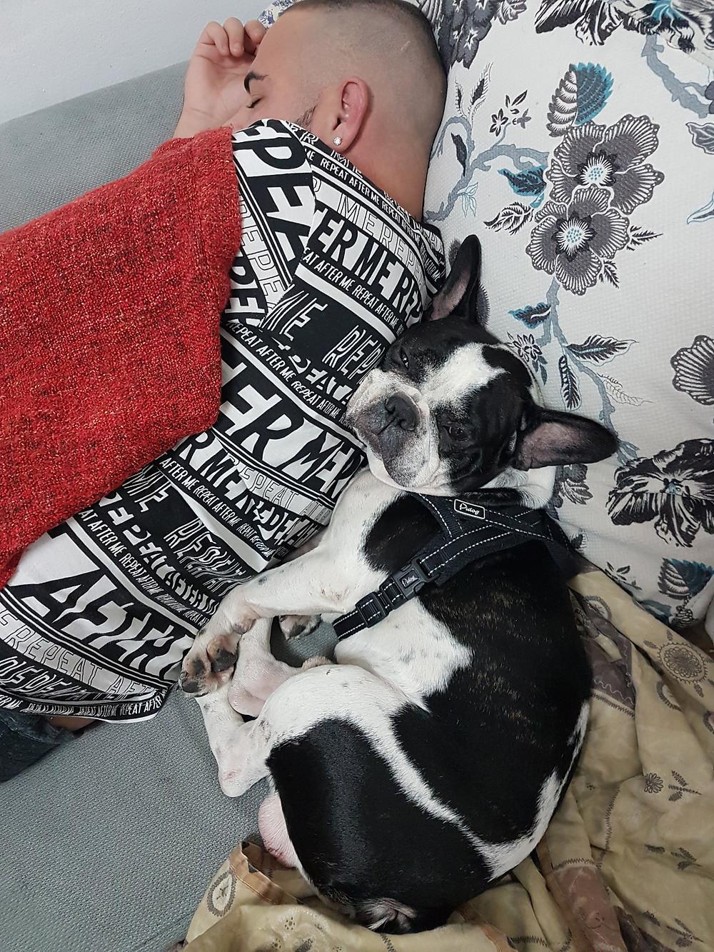 תנוחת השינה - שינה על הצד