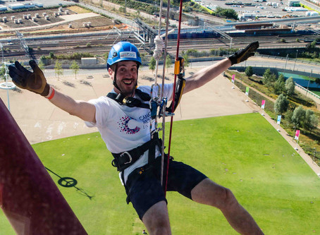 Sign up for the UK's Highest Freefall Abseil - Orbit Abseil 2019