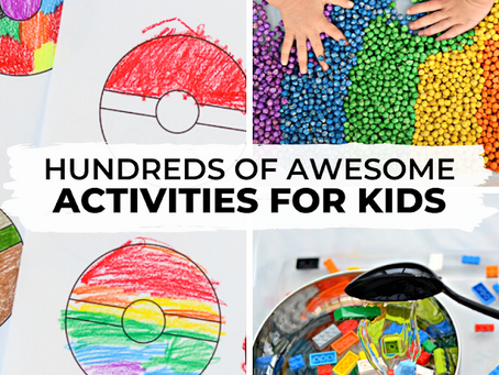 HUNDREDS OF THE BEST PLAY IDEAS & ACTIVITIES FOR KIDS