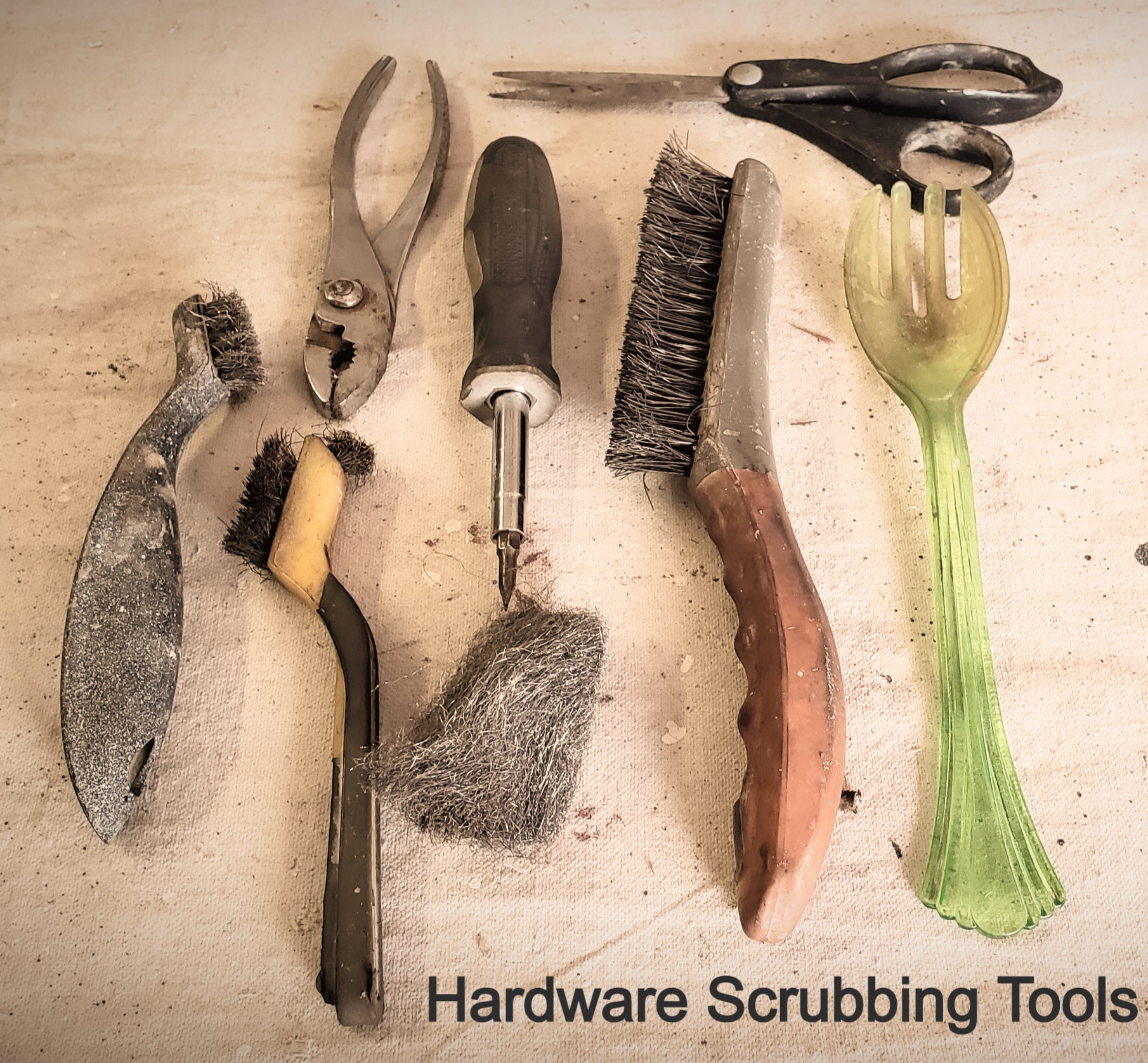 Hardware stripping tools