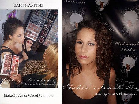 @Sakis Isaakidis MakeUp Artist School Seminars