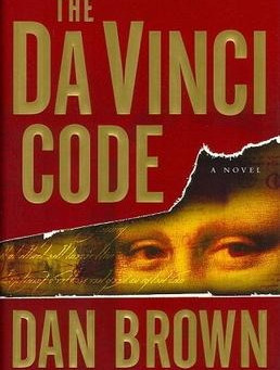 49.  The Da Vinci Code  by Dan Brown