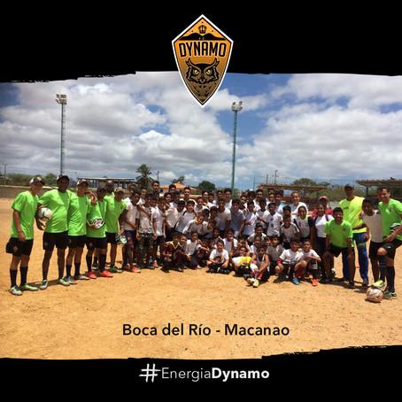 Entrenadores del Dynamo realizaron Clínica Deportiva en la península de Macanao
