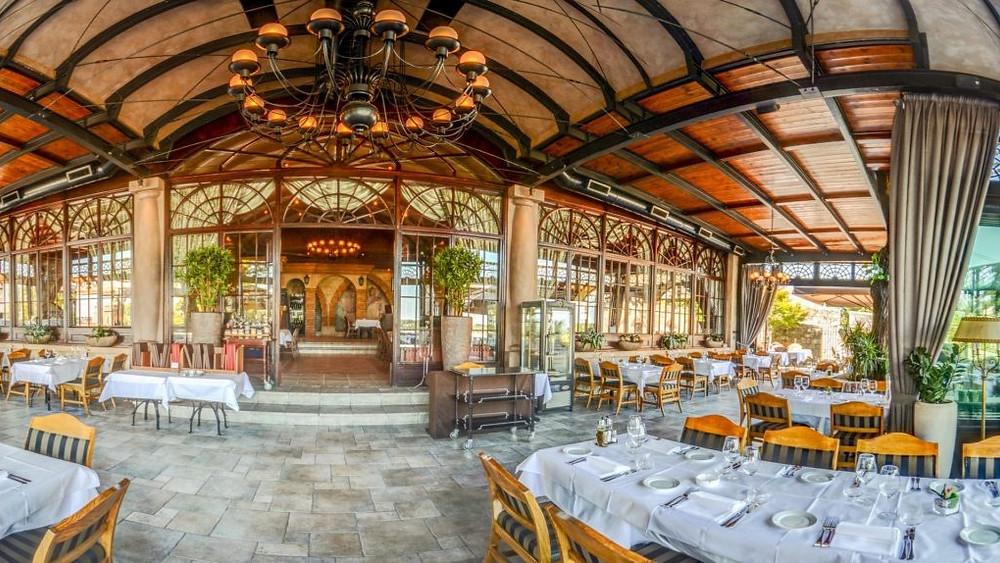 Kalemegdanska Terasa restaurant in Belgrade