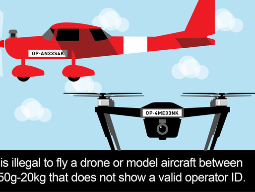 The new CAA Drone Laws come into affect on November 30th