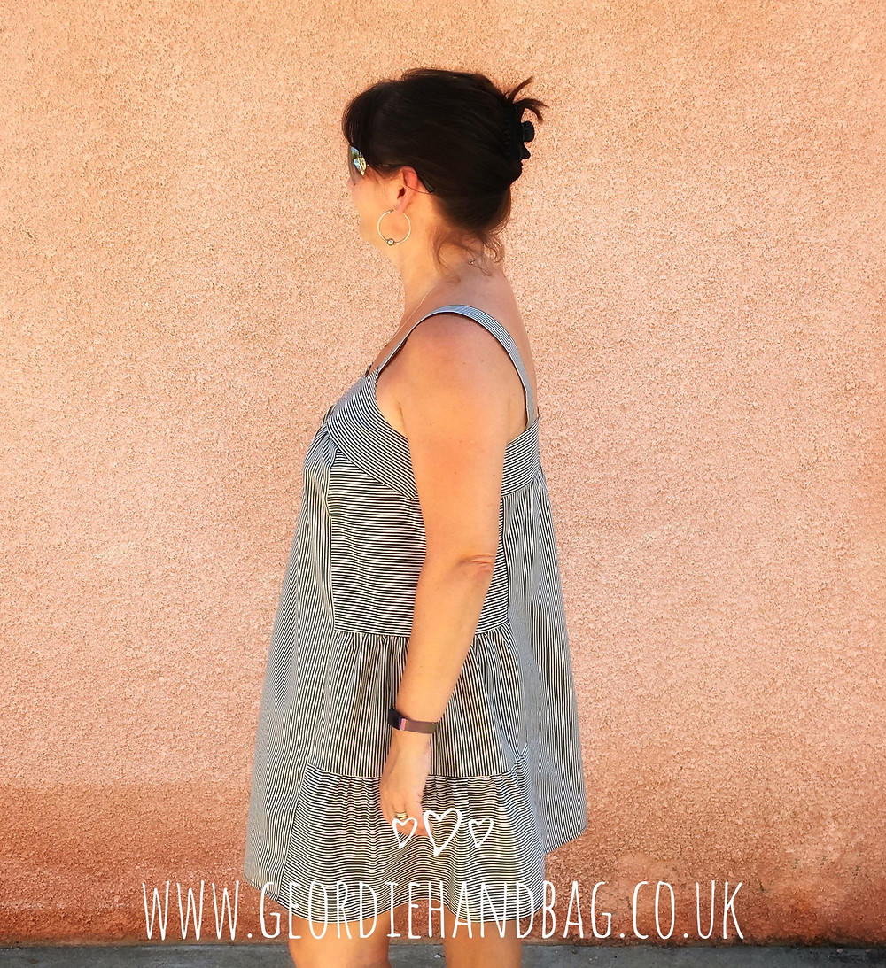 Marcel Dress and Tank Top Chalk and Notch Patterns