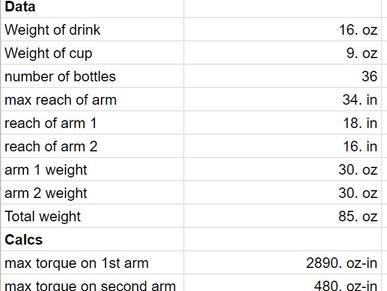 Bartender Arm #1 - The framework