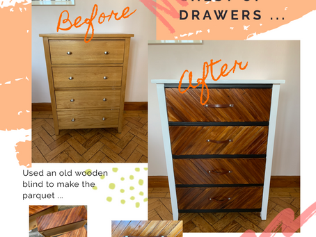 Love a hands-on upcycling project ...
