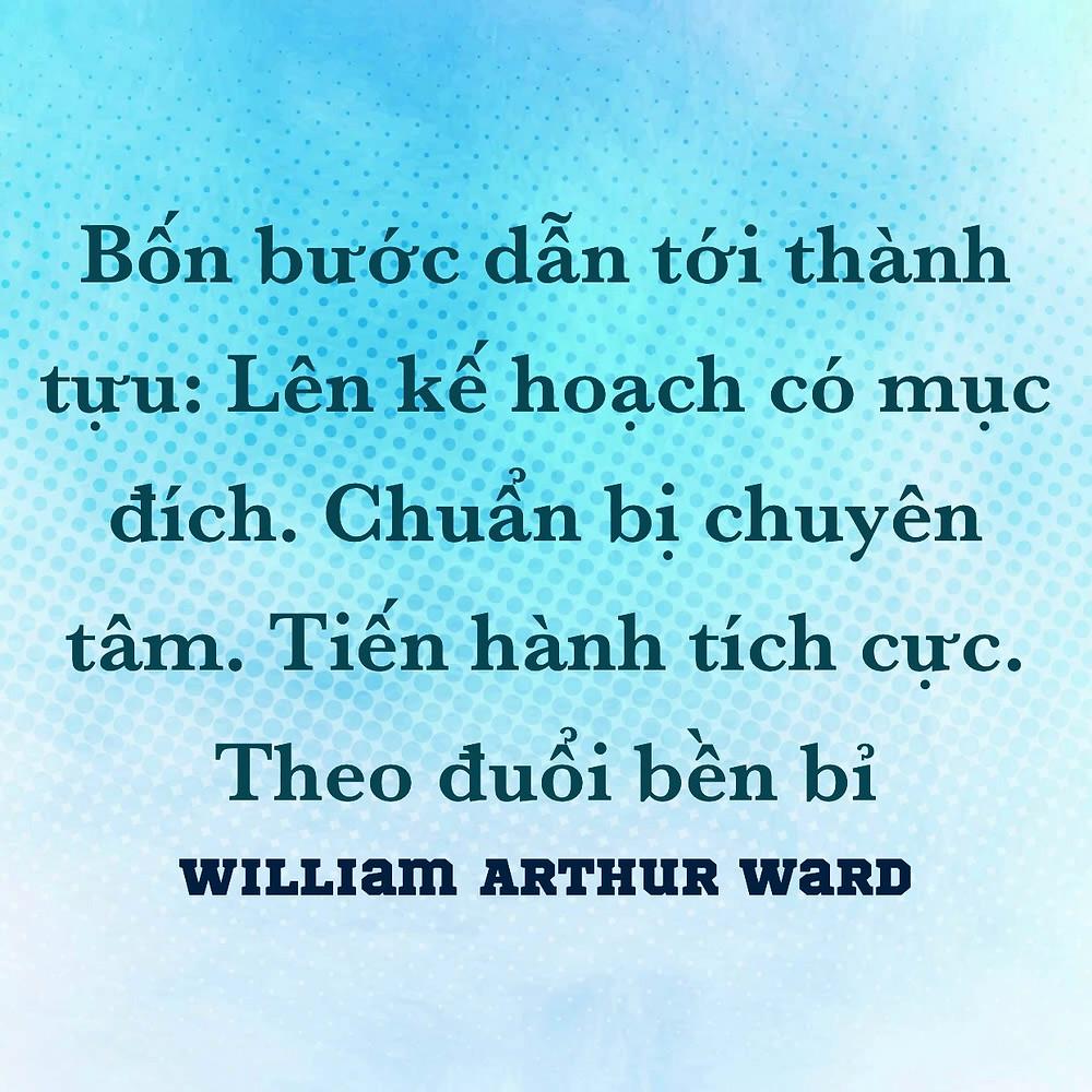 Bốn bước thành công William Arthur Ward