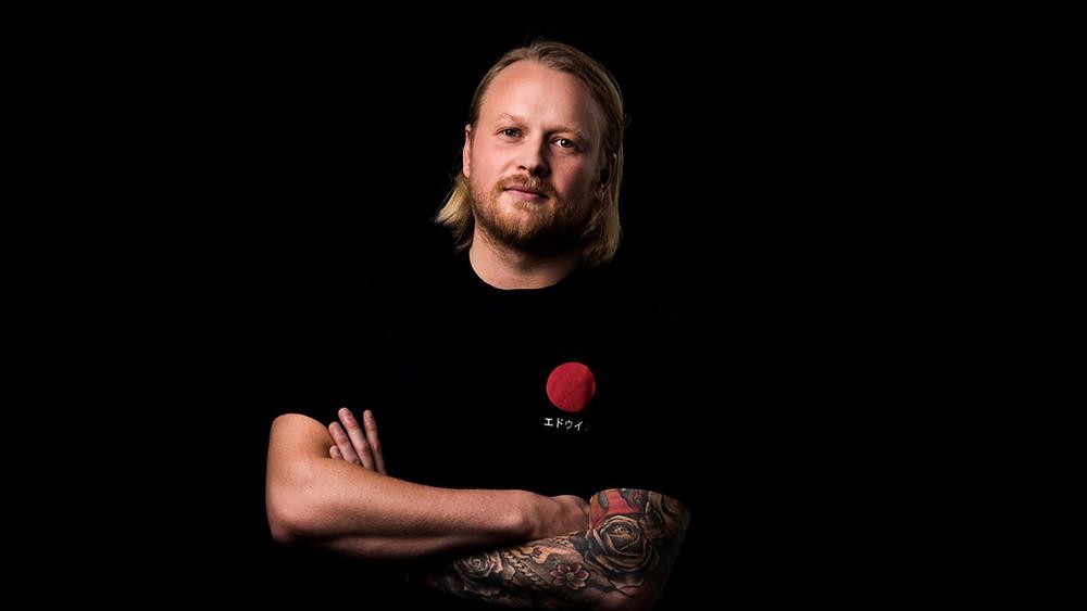 Kalle Kallonen, Blockfestin toimitusjohtaja. Kuva: Wille Nyyssönen
