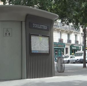 Verejné toalety v meste