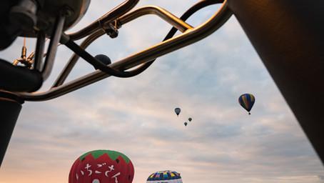 初めてバルーンに乗って空撮した話。
