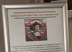 "No Columbus Day, Discovery ""A Complete Lie,"" State MSU Boards"