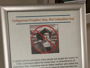 """No Columbus Day, Discovery """"A Complete Lie,"""" State MSU Boards"""