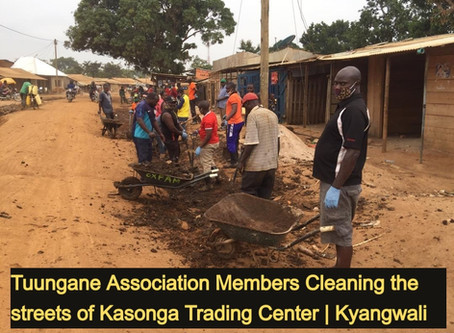 TUUNGANE LAUNCHES A SANITATION PROGRAM
