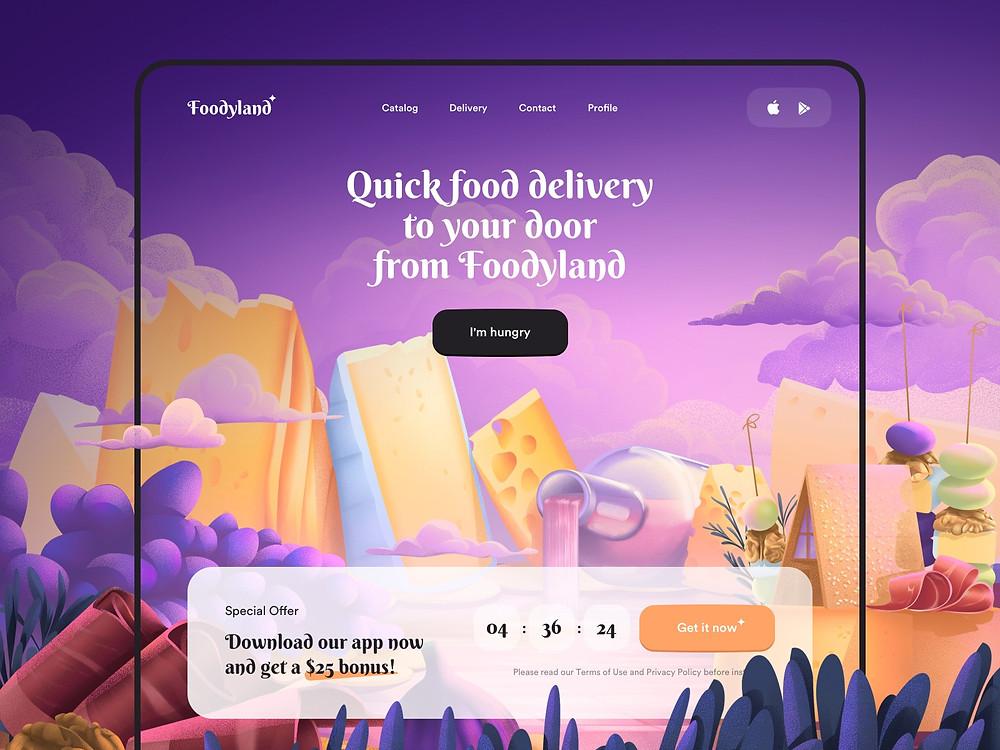 Food Delivery - App Design