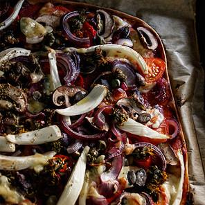 DANDELION BLOSSOM PIZZA
