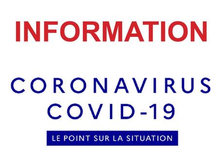 Covid-19 - Modalités de pratique