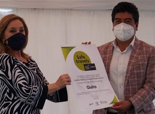 Quito obtiene el sello SafeTravels en Turismo