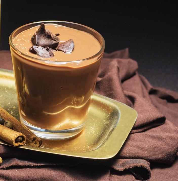 šokoladinis kremas, kavos kremas, desertas, receptai, Alfas Ivanauskas