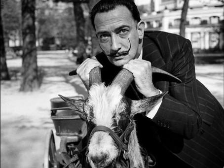 Salvador Dali Goat Drawn Carriage 1953