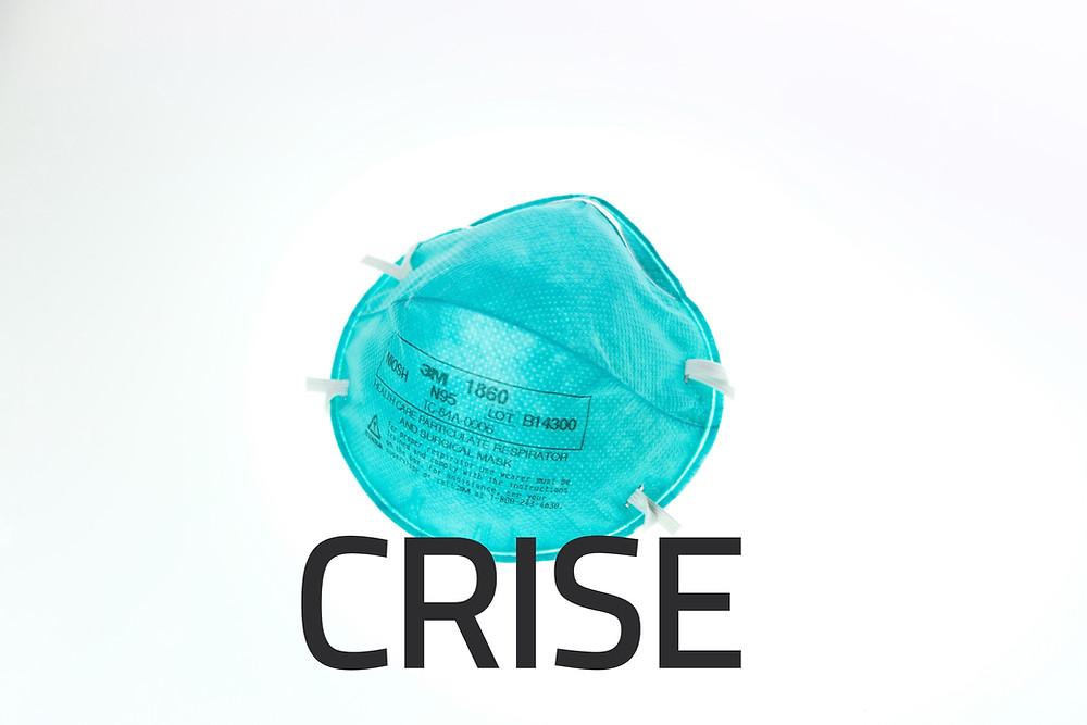 coronavirus crise mascara