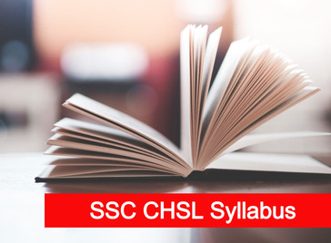 Updated SSC CHSL Syllabus | SSC Syllabus 2020