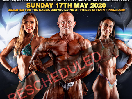 NABBA South East 2020 Poster