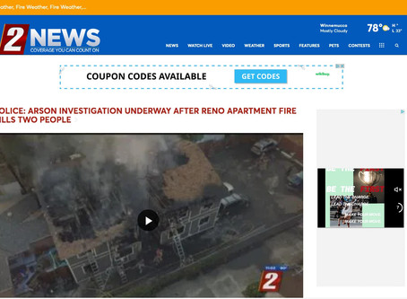 Reno 2 KTVN News - Recently published aerial footage.