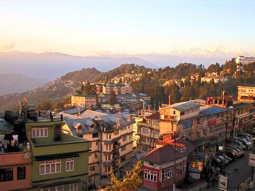 Darjeeling en Inde, au pied de l'Himalaya