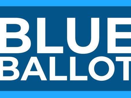 THE BLUE BALLOT