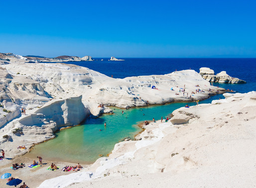 Sarakiniko Beach | Milos | A Lunar Scene on Earth