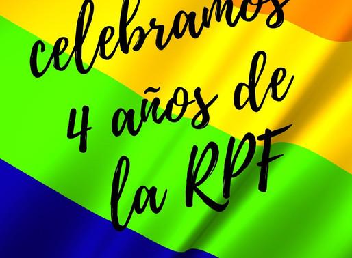 Celebramos 4 años de la RPF