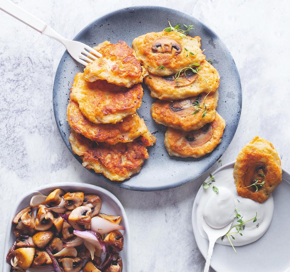 Austriški bulviniai blynai, vmg receptas, Alfo receptai, Alfas Ivanauskas, bulvių patiekalai