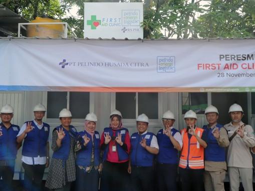 PEL Kerjasama dengan PHC Sulap Container Jadi Klinik First Aid Bersarana Lengkap.