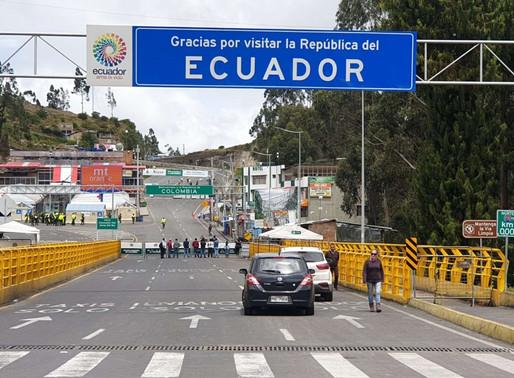No hay fecha para la reapertura de la frontera entre Ecuador y Colombia