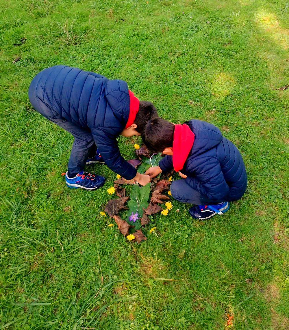 actividades descanso escolar cantabria ingles niños