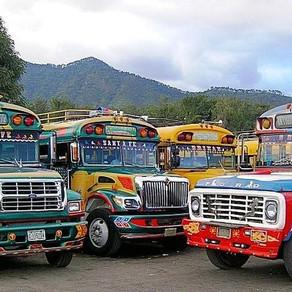 The Chicken Bus to El Paredon