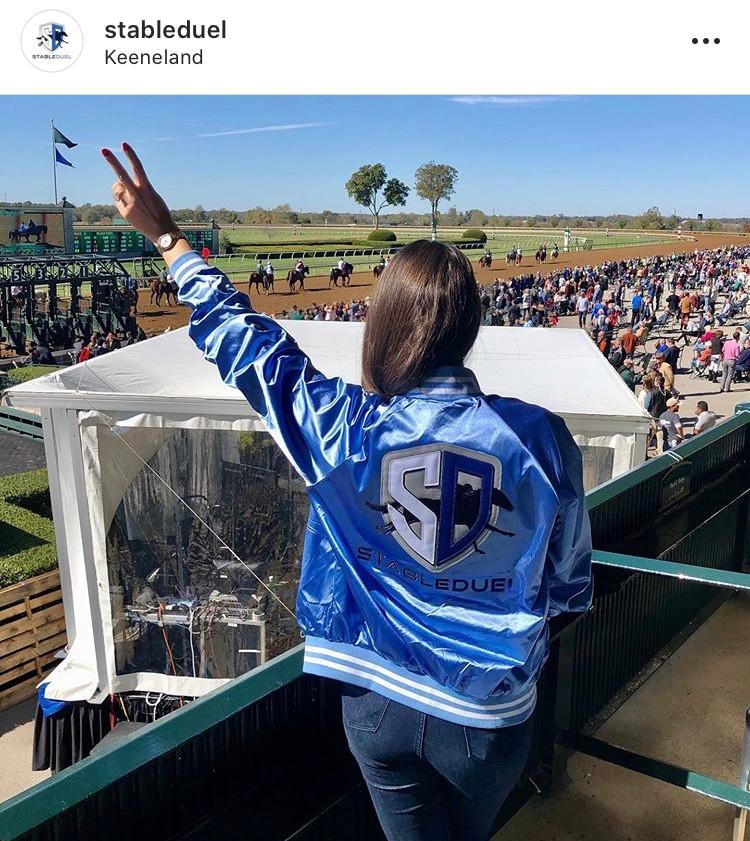 StableDuel fantasy horse racing app at Keeneland
