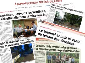 Focus sur le projet Immobilier « Les Verrières » Route de Paris