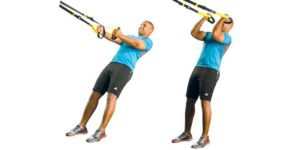 8 ejercicios con TRX para trabajar todo el cuerpo
