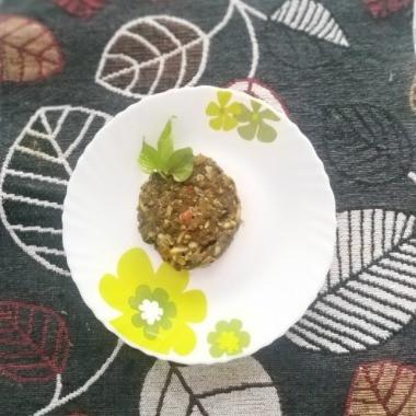 Houttuynia cordata or Fish-mint chutney