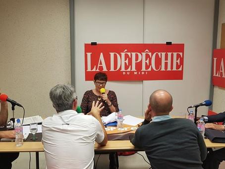Le débat pour le second tour des municipales à Pamiers