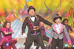 Dawson Family Competes on Disney Dance Show