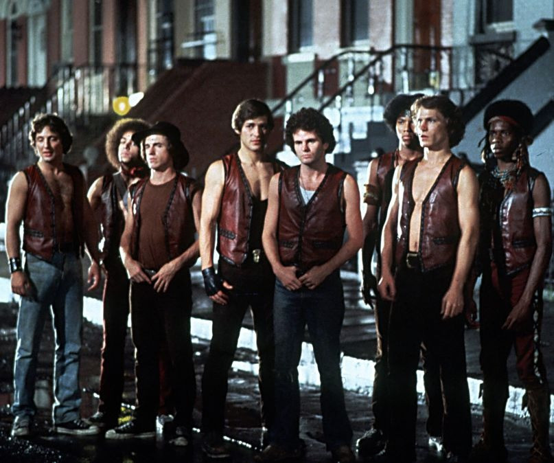 "The cast of the cult classic ""The Warriors"""